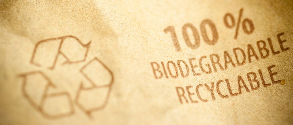 100% Biodegradable and Recyclable