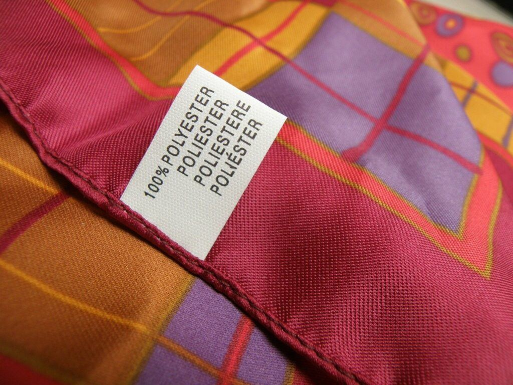Polyester scarfs