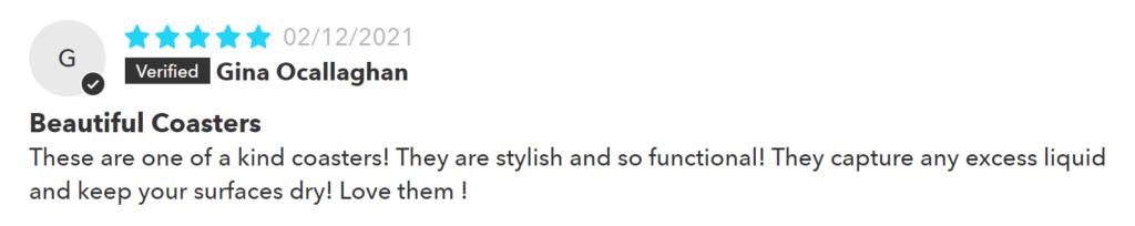 Dorai River Rock Coaster Set Review #3