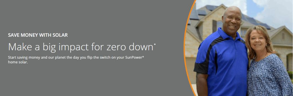 SunPower $0 Down Offer